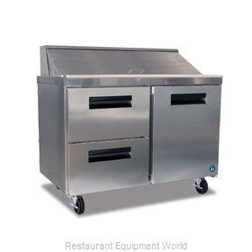 Hoshizaki CRMR48-12D2 Refrigerated Counter, Sandwich / Salad Top