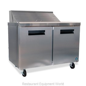 Hoshizaki CRMR48-12M Refrigerated Counter, Mega Top Sandwich / Salad Unit
