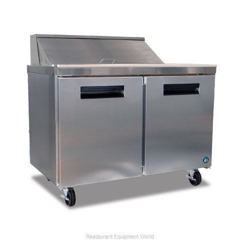 Hoshizaki CRMR48-8 Refrigerated Counter, Sandwich / Salad Top