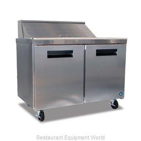 Hoshizaki CRMR48-8 Refrigerated Counter, Sandwich / Salad Top