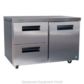 Hoshizaki CRMR48-D2 Refrigerator, Undercounter, Reach-In