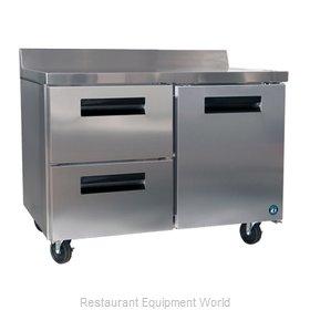 Hoshizaki CRMR48-WD2 Refrigerated Counter, Work Top