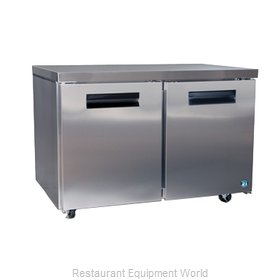 Hoshizaki CRMR48 Reach-in Undercounter Refrigerator 2 section
