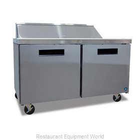 Hoshizaki CRMR60-12 Refrigerated Counter, Sandwich / Salad Top