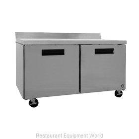 Hoshizaki CRMR60-W Refrigerated Counter, Work Top