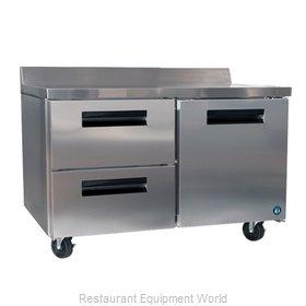 Hoshizaki CRMR60-WD2 Refrigerated Counter, Work Top