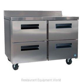 Hoshizaki CRMR60-WD4 Refrigerated Counter, Work Top