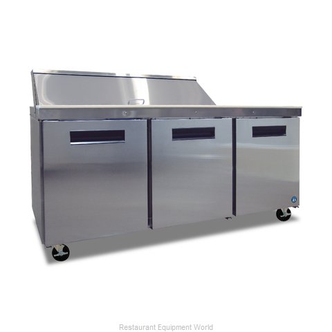 Hoshizaki CRMR72-16 Refrigerated Counter, Sandwich / Salad Top