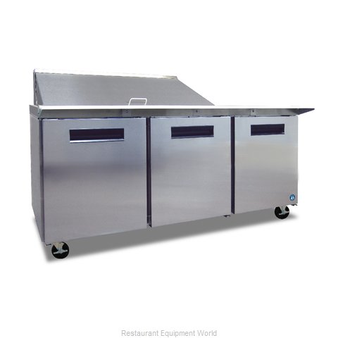 Hoshizaki CRMR72-18M Refrigerated Counter, Mega Top Sandwich / Salad Unit