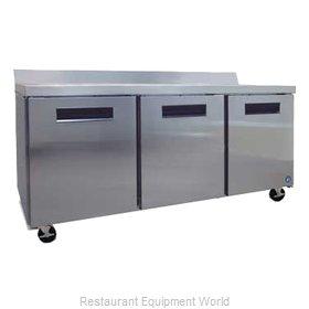 Hoshizaki CRMR72-W Refrigerated Counter, Work Top