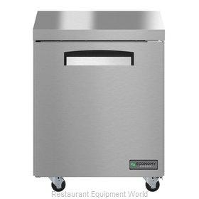 Hoshizaki EUF27A Freezer, Undercounter, Reach-In