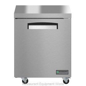 Hoshizaki EUR27A Refrigerator, Undercounter, Reach-In
