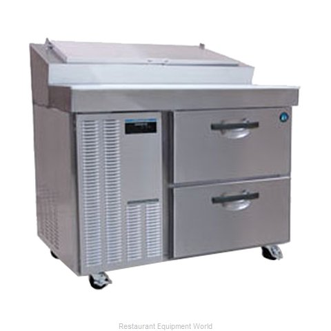 Hoshizaki HPR46A-D Pizza Prep Table Refrigerated
