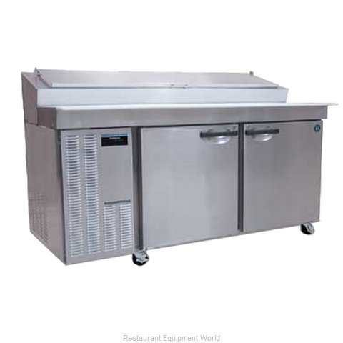 Hoshizaki HPR72A Pizza Prep Table Refrigerated