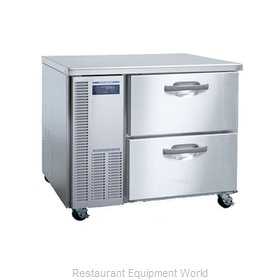 Hoshizaki HUF40A-D Reach-In Undercounter Freezer 1 section