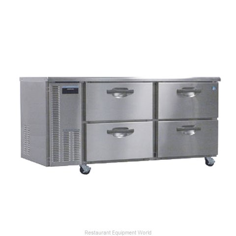 Hoshizaki HUF68A-D Reach-In Undercounter Freezer 2 section (Magnified)