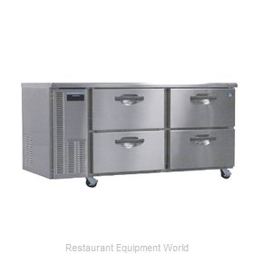 Hoshizaki HUF68A-D Reach-In Undercounter Freezer 2 section