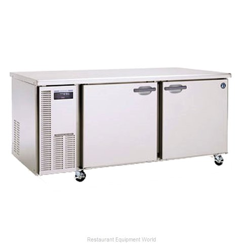 Hoshizaki HUF68A Reach-In Undercounter Freezer 2 section (Magnified)
