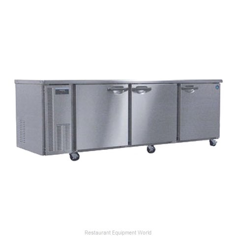 Hoshizaki HUR96A Reach-in Undercounter Refrigerator 3 section