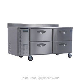 Hoshizaki HWR68A-D Refrigerated Counter Work Top