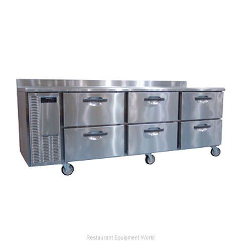 Hoshizaki HWR96A-D Refrigerated Counter Work Top