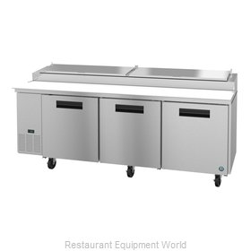 Hoshizaki PR93A Refrigerated Counter, Pizza Prep Table
