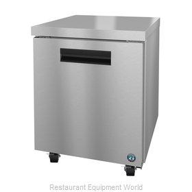 Hoshizaki UR27A Refrigerator, Undercounter, Reach-In