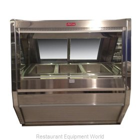 Howard McCray CHS40-4-S Display Case, Heated Deli, Floor Model