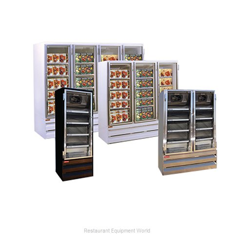 Howard McCray GF65BM-LED Freezer Merchandiser Ice Cream Temps