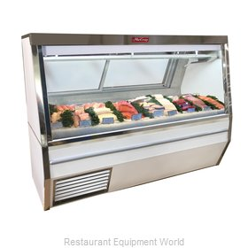 Howard McCray R-CFS34N-10-LED Display Case, Deli Seafood / Poultry