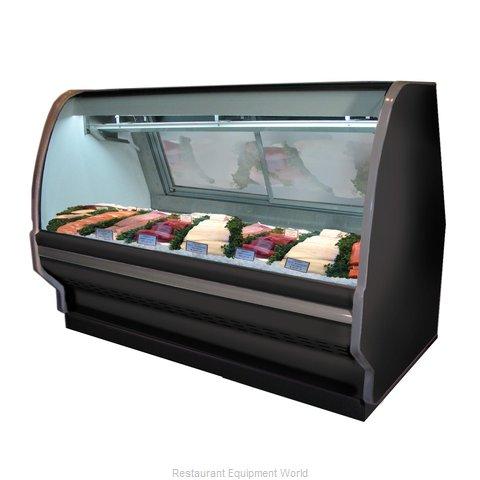 Howard McCray R-CFS40E-6C-B Display Case, Deli Seafood / Poultry