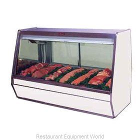 Howard McCray R-CMS32E-6-B Display Case, Red Meat Deli