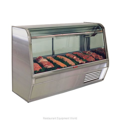Howard McCray R-CMS32E-6-LED Display Case, Red Meat Deli