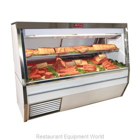 Howard McCray R-CMS34N-6-LED Display Case, Red Meat Deli