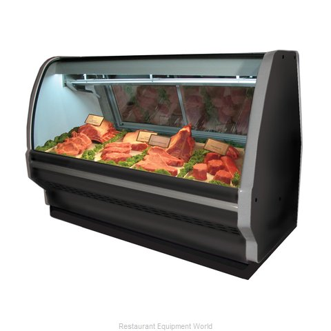Howard McCray R-CMS40E-4C-B Display Case Red Meat