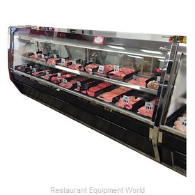 Howard McCray R-CMS40E-6-BE Display Case, Red Meat Deli