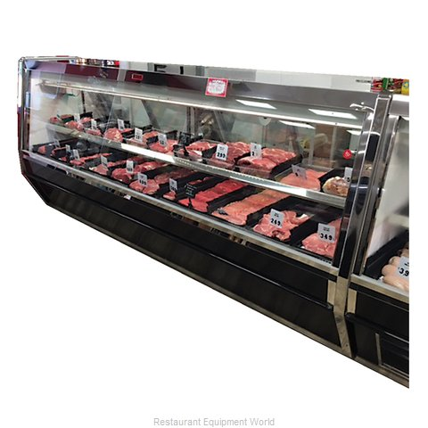 Howard McCray R-CMS40E-8-BE-LED Display Case, Red Meat Deli (Magnified)