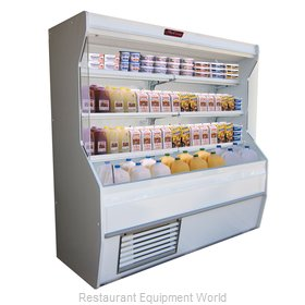 Howard McCray R-D32E-4-S-LED Merchandiser, Open