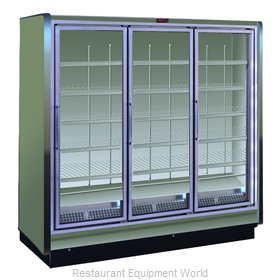 Howard McCray RIF3-30-LED Freezer Merchandiser, Ice Cream Temps