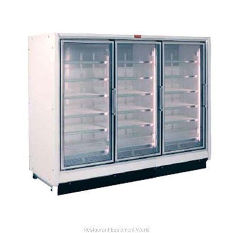 Howard McCray RIF3-63 Freezer Merchandiser Ice Cream Temps