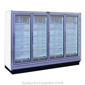 Howard McCray RIF4-24 Freezer Merchandiser Ice Cream Temps