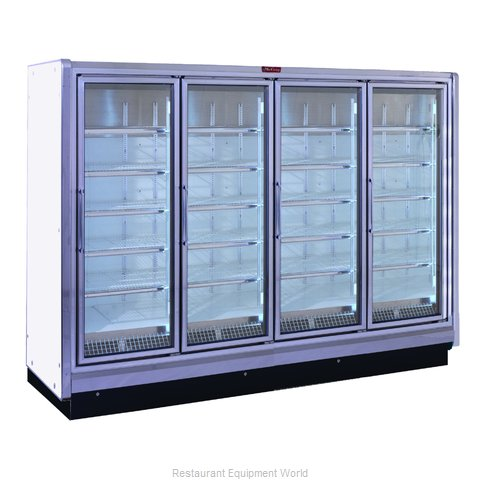Howard McCray RIN4-24 Refrigerator, Merchandiser (Magnified)