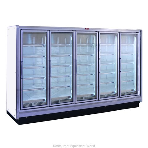 Howard McCray RIN5-24 Refrigerator Merchandiser (Magnified)
