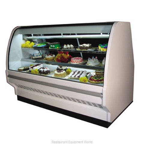 Howard McCray SC-CBS40E-4C-BLS Display Case Refrigerated Bakery (Magnified)