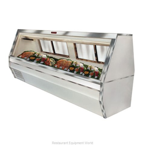 Howard McCray SC-CFS35-4 Display Case Fish Poultry