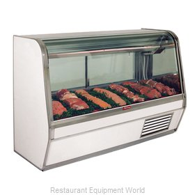 Howard McCray SC-CMS32E-4C-LED Display Case, Red Meat Deli