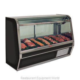 Howard McCray SC-CMS32E-6C-BE-LED Display Case, Red Meat Deli