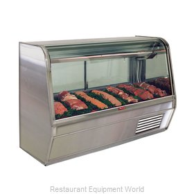 Howard McCray SC-CMS32E-8C-S-LED Display Case, Red Meat Deli