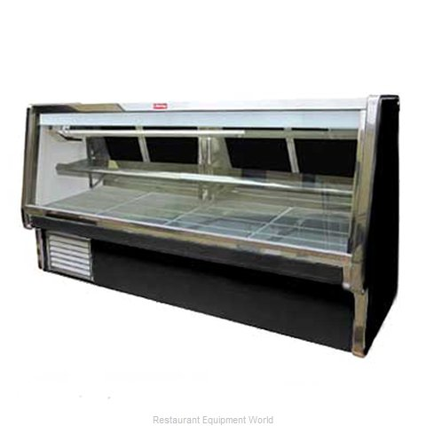 Howard McCray SC-CMS34E-4-B Display Case Red Meat