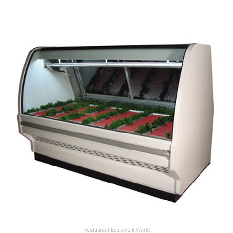 Howard McCray SC-CMS40E-6C-B Display Case Red Meat